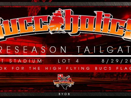 Buccaholics AT&T stadium PreSeason Tailgate.