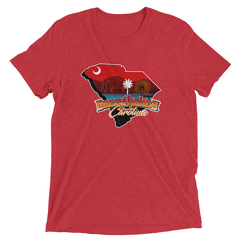Buccaholics South Carolina Triblend Short sleeve t-shirt
