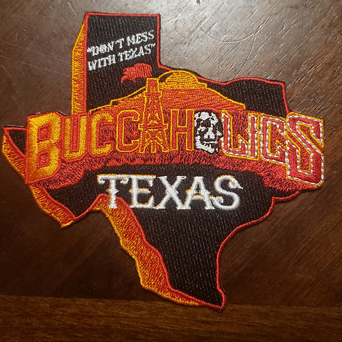 Buccaholics Classic Texas Patch