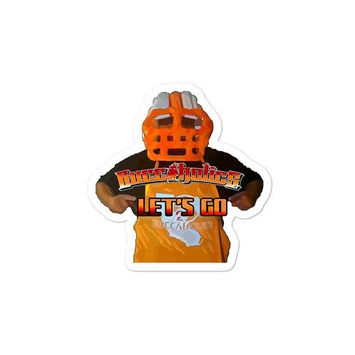 Buccaholics VMAN Let's Go Bubble-free stickers
