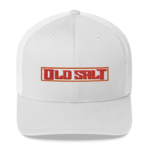Buccaholics Old Salt Trucker Cap