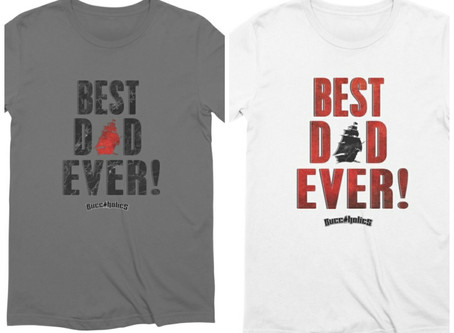 Buccaholics Fathers Day Shirt