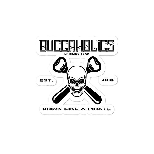 Buccaholics Drinking Team Bubble-free stickers #3