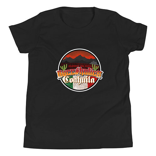 Buccaholics Mexico Coahuila Youth Short Sleeve T-Shirt