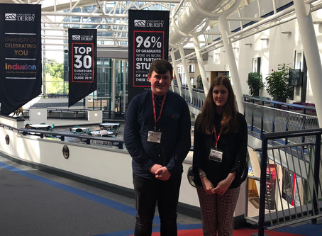 Work Experience: The University of Derby