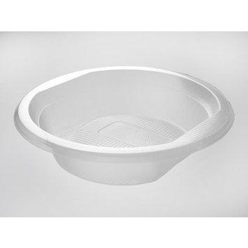 Тарелка суповая прозрачная