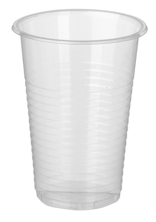Одноразовый стакан 200 мл. прозрачный