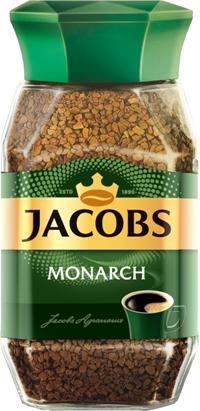 Кофе растворимый JACOBS Monarch натуральный сублимированный, ст/б, 95г