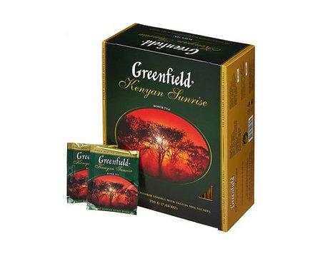Чай черный GREENFIELD Golden Ceylon Цейлонский, 100пак