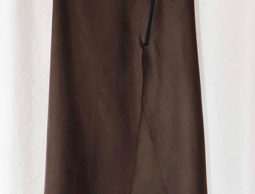 No.75 Silk Zipper Skirt