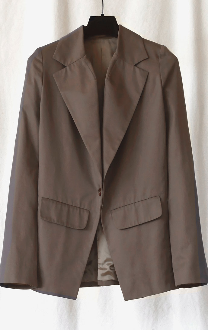 No.80 Gabardine Closed Jacket