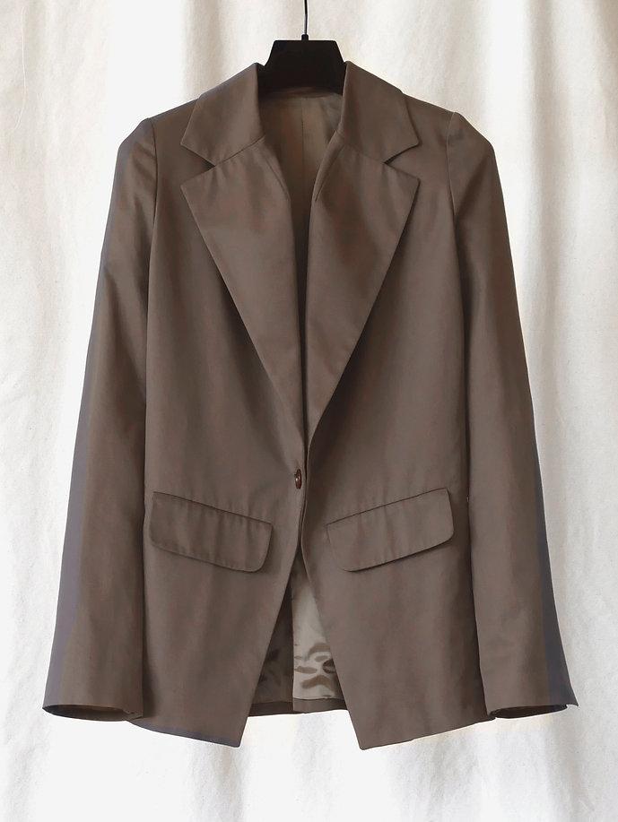No.80 Gabardine Closed Jacket