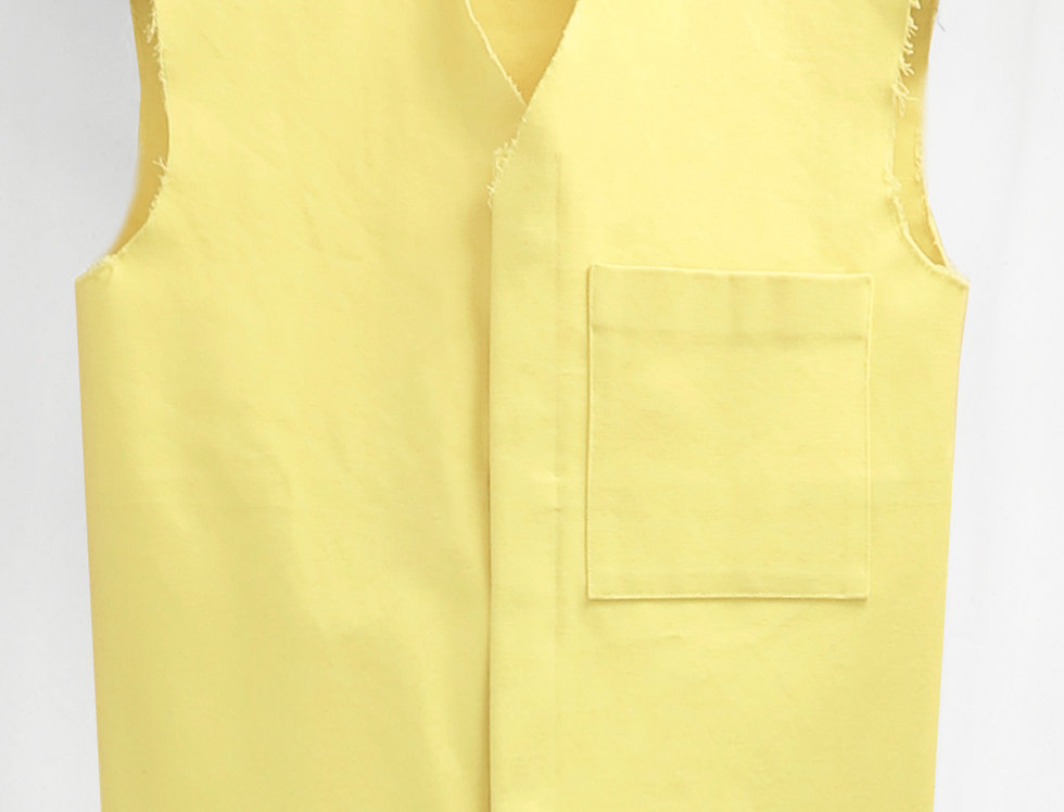 Pre-Order No.135 Cotton Canvas Vest