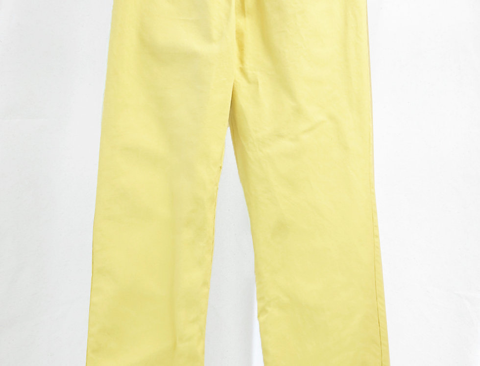 Pre-Order Mens No.136 Cotton Canvas Gathered Trousers
