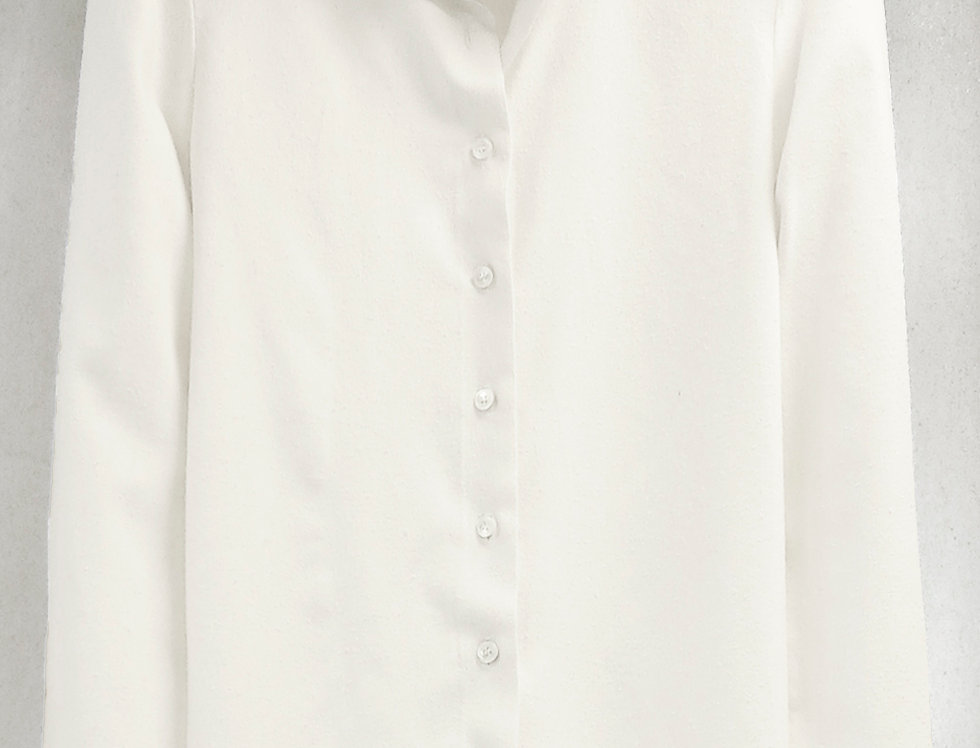 Pre-Order No.92 Bourette Silk Shirt