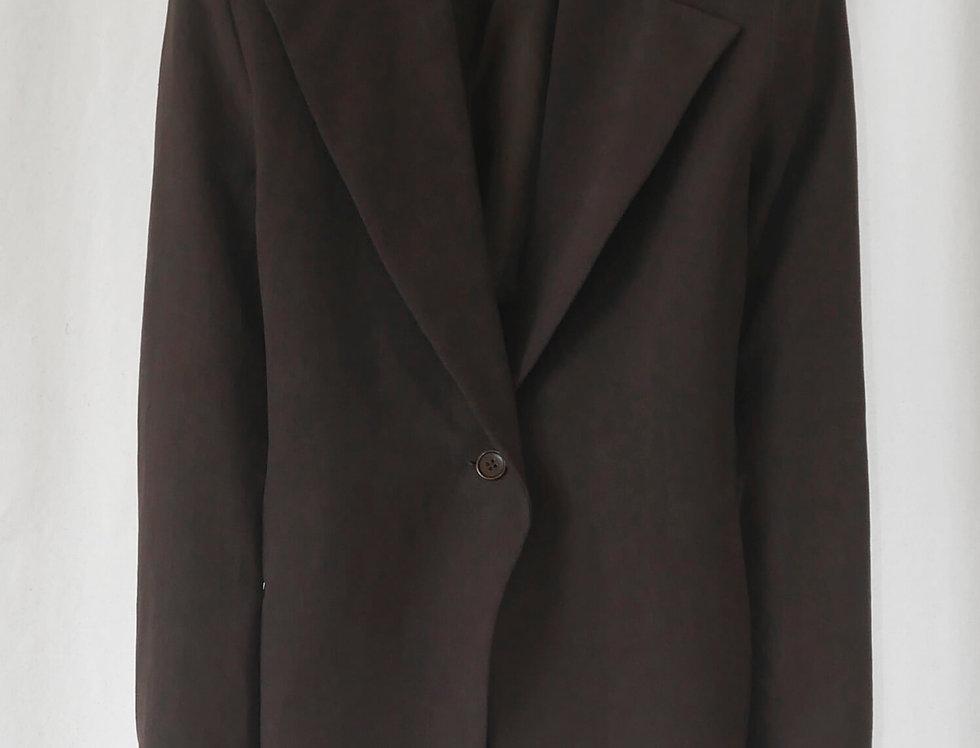 No.105 Linen Crossed Jacket