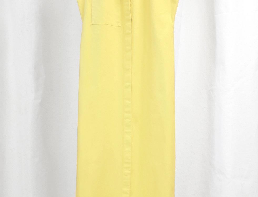 Pre-Order No.90 Cotton Canvas Dress