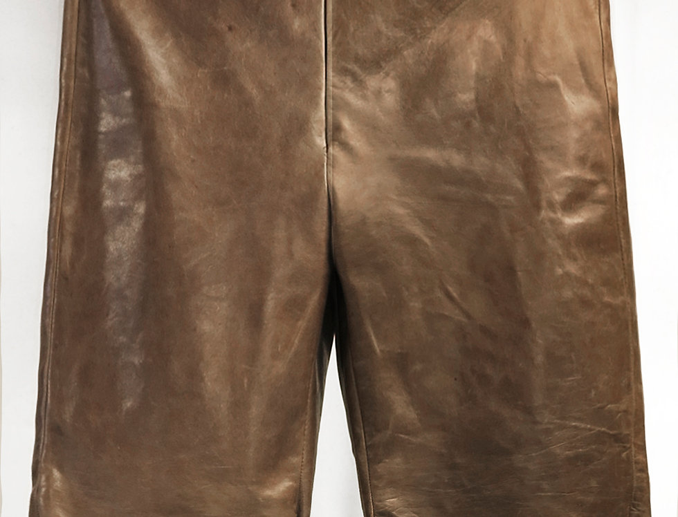 Pre-Order No.147 Leather Shorts