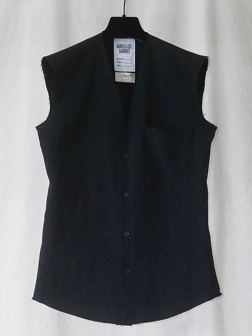No.74 Linen Sleeveless Blouse Pre-order