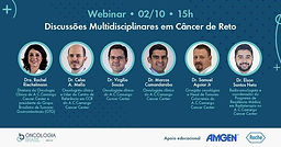 Discussões multidisciplinares em Câncer de Reto