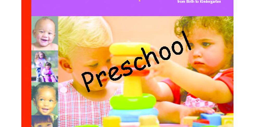 Milestones of Child Development for Preschool (Cohort prerequisite)