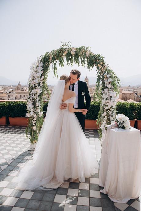 Свадебная фотосессия в Палермо