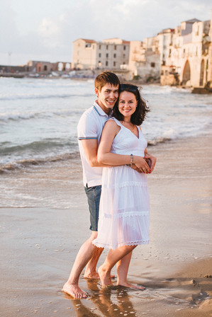 Pregnancy portraits in Sicily