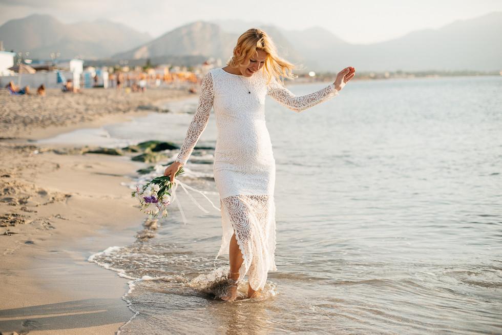 Maternity photographer Sicily