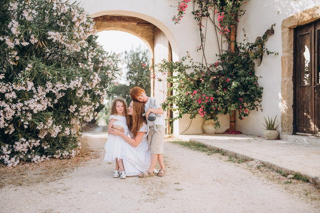 Family photographer Taormina