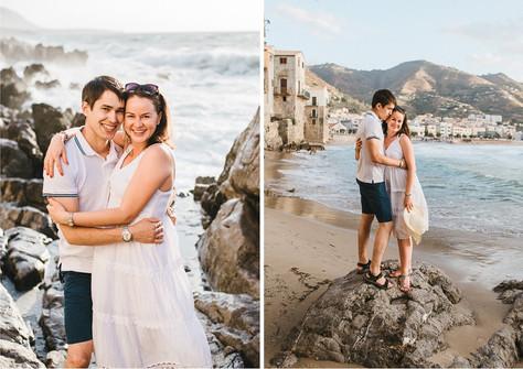 Maternity photo shoot Sicily Italy