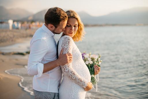 Pregnancy Photographer Sicily Italy
