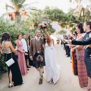 Scottish Wedding in Sicily