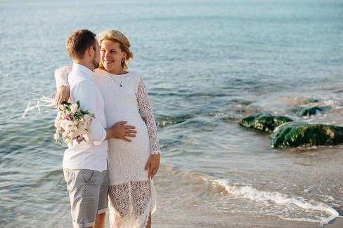 Pregnancy photos Sicily Italy