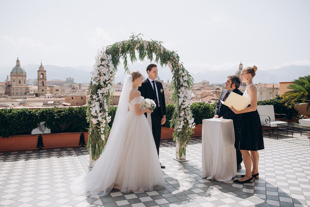 Palermo wedding for two