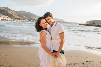 Pregnancy Photographer in Sicily