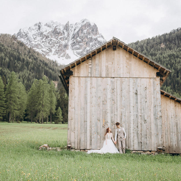 Wedding story in Dolomites, Italy