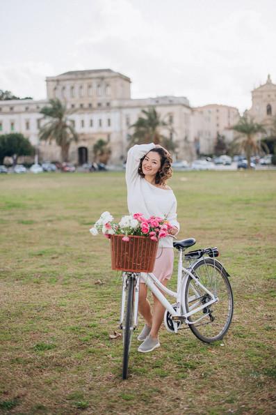 Photographer in Sicily