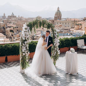 Wedding for Two in Palermo, Sicily