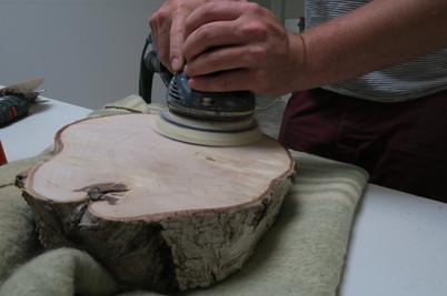 houten schijf