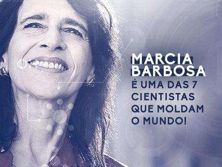 BRASILEIRA ENTRE AS 7 CIENTISTAS QUE MOLDAM O MUNDO