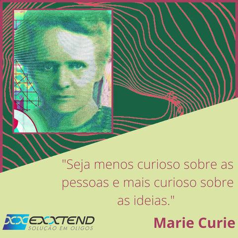 Citação Marie Curie