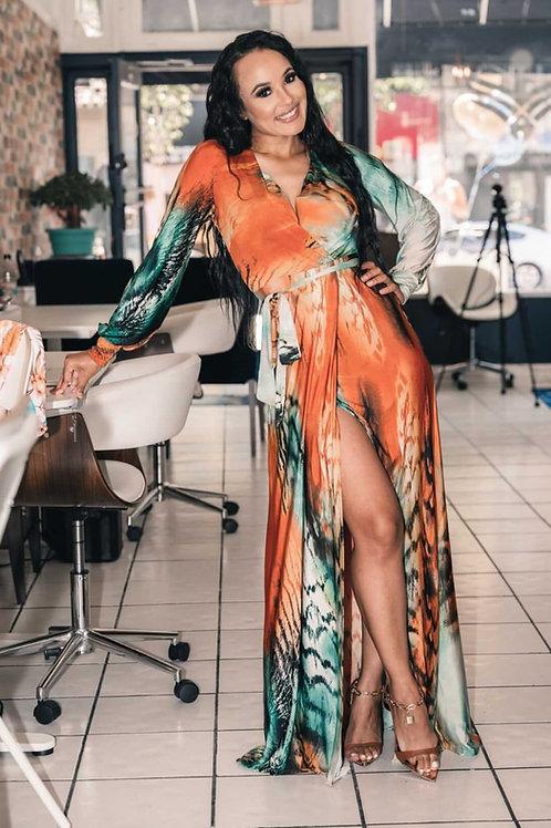Goddess Maxi Dress with Slit