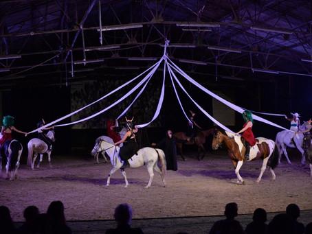 La Randonnée de Pollionnay enchante le spectacle équestre
