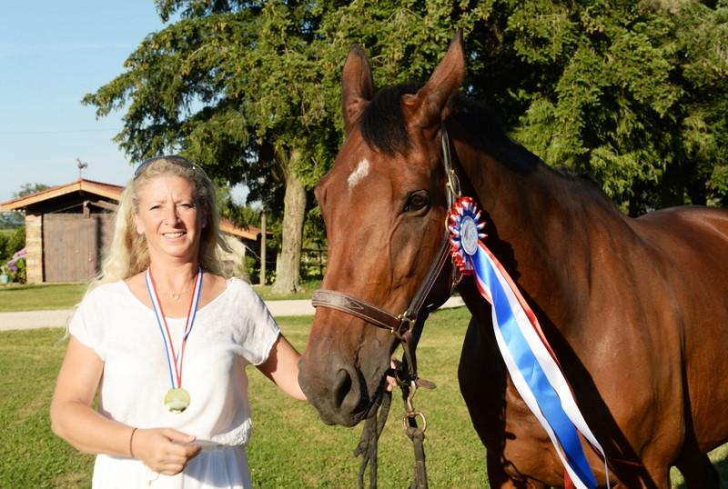 Audrey Revel - Championne de France Hunter en Amateur 1