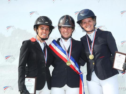 Master Pro CSO Fontainebleau (77) : Béatrice, Claire et Yannick sur les podiums