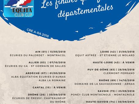 Reprise des sélections départementales pour l'Equita Club Cup 2018