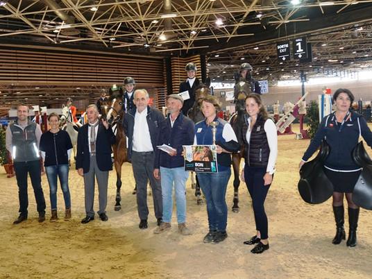 Les Cyclamens fleurissent sur l'Equita Club Cup