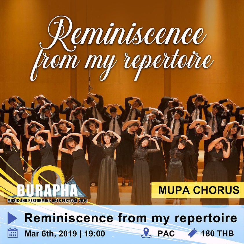 Reminiscence from my repertoire & Mellow Motifs