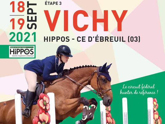 HUNTER : Le NSE de retour à Vichy !