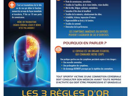 Alerte à la commotion cérébrale